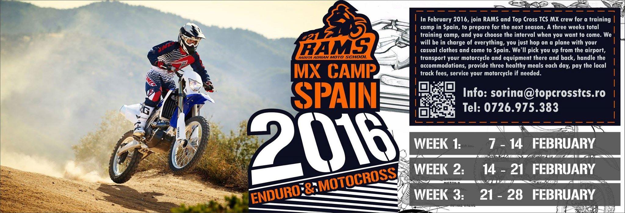 RAMS MX Camp Spain 2016